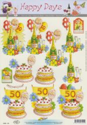 Happy Days knipvel abraham 11053-121 (Locatie: 4746)