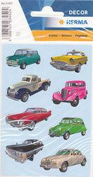 Herma stickers auto's 3 vel 3452 (Locatie: U179)