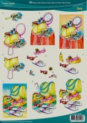 Hobby design knipvel vrouwen 73109 (Locatie: 952)