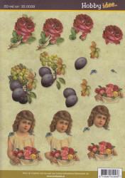 Hobby Idee knipvel bloemen HI-0038 (Locatie: 5703)