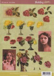 Hobby Idee knipvel bloemen HI0044 (Locatie: 5705)
