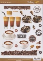 Hobby Idee knipvel koffie HI 0011 (Locatie: 0923)