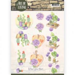 Jeanine's Art knipvel bloemen en planten CD11210 (Locatie: 4604)