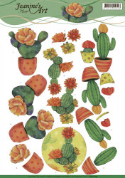 Jeanine's Art knipvel cactus CD11109 (Locatie: 4319)