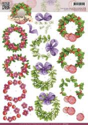 Jeanine's Art knipvel kerstmis CD10552 (Locatie: 2940)