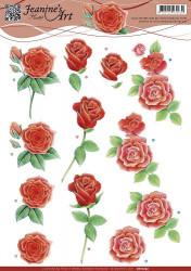 Jeanine's Art knipvel rozen CD10752 (Locatie: 5826)