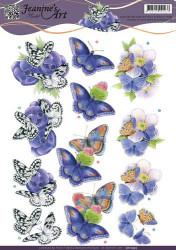 Jeanine's Art knipvel vlinder CD10935 (Locatie: 2397)
