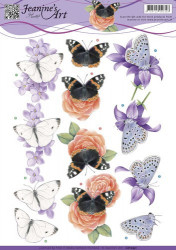 Jeanine's Art knipvel vlinders CD10931 (Locatie: 1524)