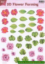 Joy Crafts 3D Flower forming transparant 6018 0004 (Locatie: 1562)