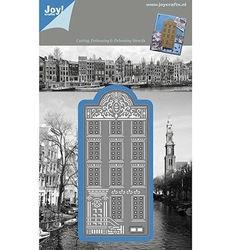 Joy! Crafts snij- embos- en debosmal Grachtenhuis 1201/0085 (Locatie: H227)