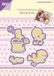 """Joy! snij- en embosmal """"Spring Birds"""" 6002/0434 (Locatie: M003)"""