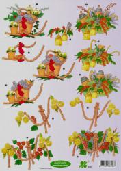 Klaver-vier knipvel bloemen 4141 (Locatie: 1456)