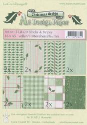 Le Crea Design, design paper, Christmas, A5 51.8329 (Locatie: S2)