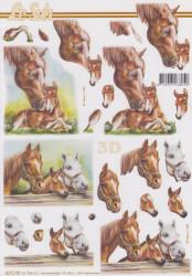 Le Suh 3D Knipvel Paarden 8215795 (Locatie: 2860)