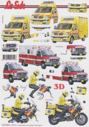 Le Suh knipvel ambulance 777318 (Locatie: 6704)