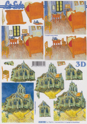 Le Suh knipvel gebouwen 4169782 (Locatie: 1116)