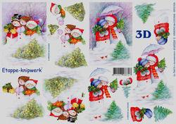 Le Suh knipvel kerstmis 4169334 (Locatie: 2335)
