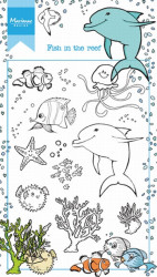 Marianne Design clear stamp fish in the reef HT1618 (Locatie: i533)