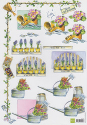 Marianne design knipvel bloemen IT511 (Locatie: 0510)