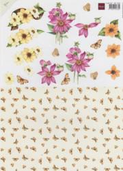 Marianne Design knipvel bloemen MB0089 (Locatie: 2251)