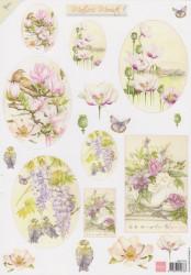 Marianne Design knipvel bloemen MB0152 (Locatie: 2794)
