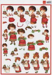 Marianne Design snoesjes kerst 3DHM 0044 (Locatie: 0134)