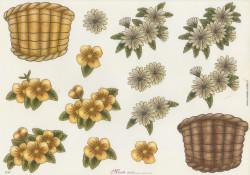 Mireille knipvel bloemen E147 (Locatie: 2663)