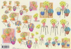 Mireille knipvel bloemen E692 (Locatie: 2245)