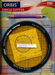 Orbis cirkelsnijder inclusief snijpen, 3 mesjes en snijmat CC-01