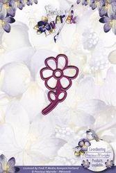 Precious Marieke snij- en embosmal Flower PM10007 (Locatie: M67)