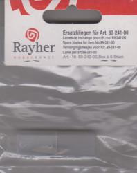 Rayher vervangingsmesjes 6 stuks 8924200 (Locatie: k1)