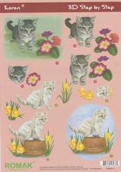 Romak knipvel Katten PO-600-12 (Locatie: 0234)