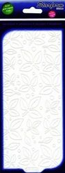 Starform sticker velvet blaadjes wit 7110 (Locatie: B359 )