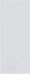 Starform sticker wit zum geburtstag 489 (Locatie: J404)