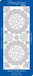 Starform sticker zilver 1130 (Locatie: N164 )