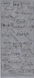 Stickervel zilver teksten 1923 (Locatie: t087)