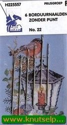 Sticknadeln stumpf 6 Stücke 22 (Locatie: 5R)