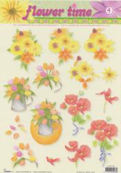 Studio Light knipvel bloemen nr. STAPFT 04 (Locatie: 5007)