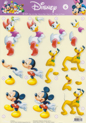 Studio LIght knipvel Disney STAPDIS06 (Locatie: 2803)