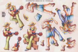 TBZ knipvel cowboy 202076 (Locatie: 6315)