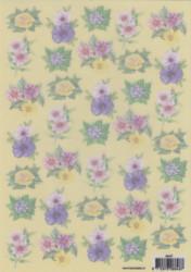 Vellum bloemen 8848T (Locatie: 2708)