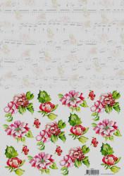 Voorbeeldkaarten knipvel bloemen 8913 (Locatie: 1236)