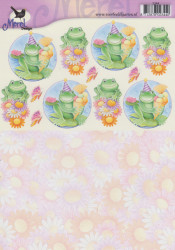 Voorbeeldkaarten knipvel verjaardag 2344 (Locatie: 2769)