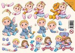 Voorbeeldkaarten stansvel kinderen PO 1069 (Locatie: 1330)