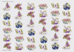 Wekabo knipvel bloemen 696 (Locatie: 1443)