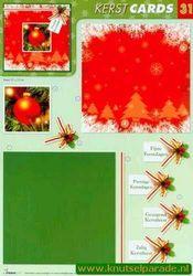 Studio Light knipvel cards kerst 31 (Locatie: 2364)