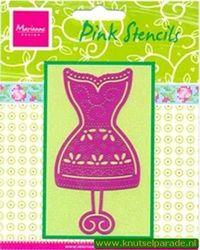 Marianne Design pink stencils PK 9003 (Locatie: D03 )