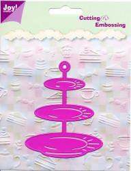 Joy! Crafts snij- en embosmal etagere 6002/0119 (Locatie: M014)