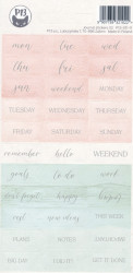 Piatek13 Stickersheet Journal 13 1 vel (Locatie: B301)