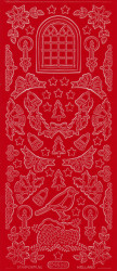 Starform Stickervel 953 rood (Locatie: BB129)